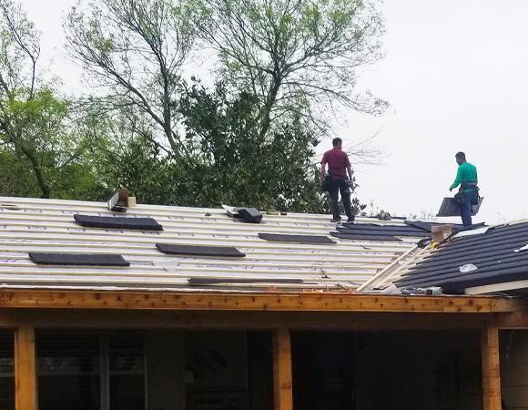 roof repair st george